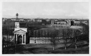 Milano Italy Amphitheatre Real Photo Antique Postcard K77728