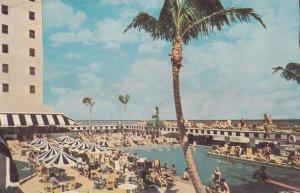 MIAMI BEACH, Florida, 1950-1960's; Casablanca Hotel, Swimming Pool