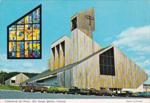 Canada Quebec Gaspe Christ The King Cathedral