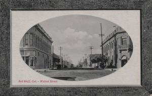 RED BLUFF , California, 1915; Walnut Street