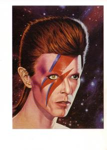 David Bowie with Painted Face, by David O'connor