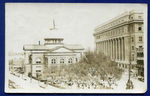 EL Paso Texas tx City & County Buildings real photo postcard RPPC