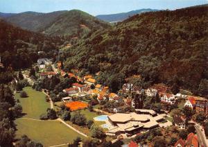 Bad Bergzabern an der Weinstrasse Pfalz Kurtal Schwimmbad Airview