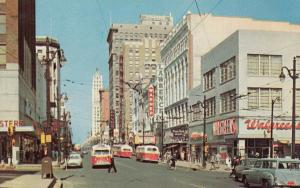 MEMPHIS, Tennessee, 50-60s; Main Street Looking North