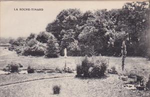 ANDARD, France, 1900-1910´s; La Roche-Tinard, View of Garden