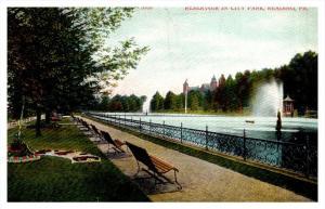 Pennsylvania   Reading  Reservoir in City park