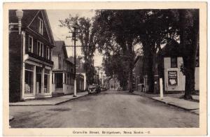 Granville St. Bridgetown NS