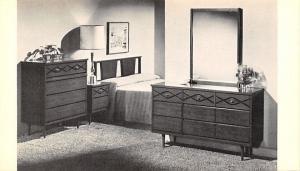 Dothan Alabama~Napier Furniture Co~Bedroom Suite~1960s Advertising Postcard