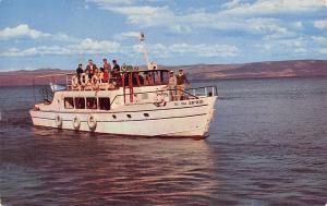 Tiberias Israel~Jewish Tourboat M/L Susita~Kinnereth Sailing Co~1961