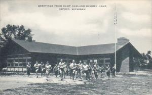 Greetings from Camp Oakland Summer Camp, Oxford, Michigan, 20-30s