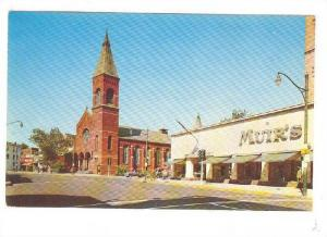 Looking North On Main St. Brick Church Section, East Orange, New Jersey, 40-60s