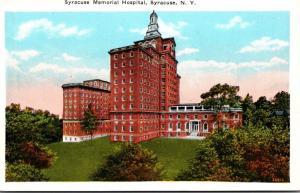 New York Syracuse The Syracuse Memorial Hospital