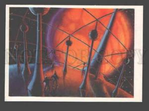 090100 RUSSIAN 1963 Space imagination by Sokolov Old PC#4