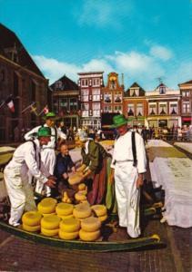 Netherlands Alkmaar Kaasmarkt Cheese Market