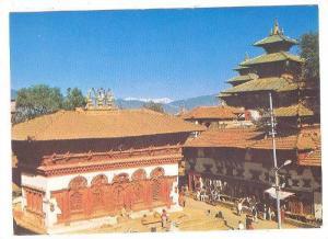 Temples of Hanumandhoka, New Hotel Crystal, Pokhara, Nepal, 50-70s