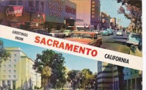 California Greetings From Sacramento 1964