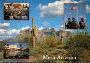 Arizona Greetings From Mesa Multi View
