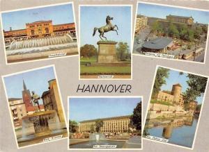 Hannover Hauptbahnhof, Sachsenross, Duve Brunnen, Am Georgsplatz, Opernhaus