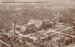 UK Aeroplane View of Crystal Palace and Grounds 01.52