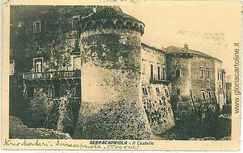 07855  CARTOLINA d'Epoca - FOGGIA: SERRACAPRIOLA