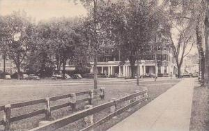 New Hampshire Hanover Senior Fence And Hanover Inn Dartmouth College Albertype