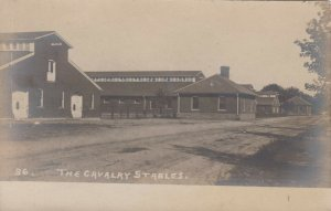 7 RPs : U.S. ARMY Calvary Fort, 1901-07