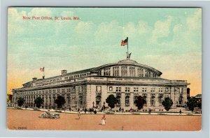 St Louis MO-Missouri, New Post Office, Vintage Postcard