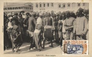 CPA Djibouti Afrique - Danse indigéne (86988)