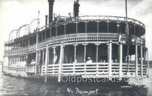 Davenport, Iowa, USA Ferry Boat, Ferries, Ship Davenport, Iowa, USA Writing o...