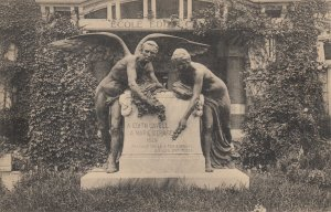 Edith CAVELL & Marie DEPAGE Monument, Belgium, 1910s