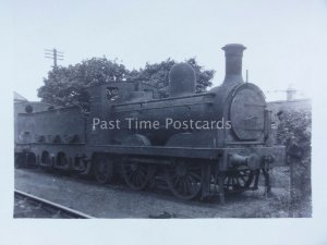 Steam Locomotive No.15 BARROW D.S.E. Railway at Bray Ireland Old RP Postcard