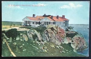 E.D. Morgan's Residence Newport RI 1913