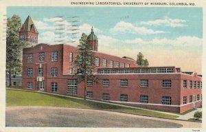 COLUMBIA, Engineering Laboratories, University of Missouri, Missouri 30-40s