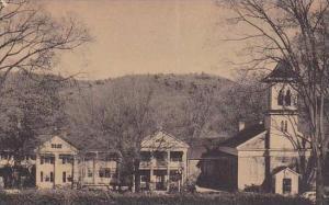 Connecticut Salisbury Ragamont Inn And Saint Johns Church