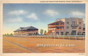 Keeneland Association Running Track Lexington, Kentucky, KY, USA Unused