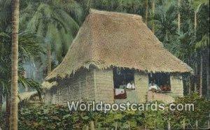 Native House Manila Philippines 1913