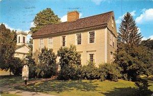 Wells-Thorn House Deerfield, Massachusetts