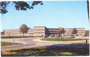Residence Hall X, Pudue University, Lafayette, Indiana, IN, Chrome