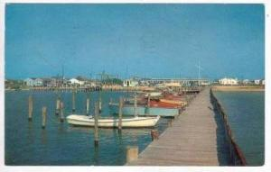 Johnny Marsh's Yacht Basin, Dewey Beach, Delaware PU 1964
