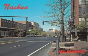 Main Street, North, NASHUA, New Hampshire, 60s-70s