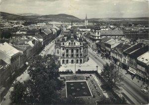 Post card Slovakia Kosice cityscape panoramic sight