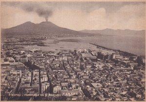 NAPOLI, Campania, Italy, 1900-1910s; Panorama Da S. Martino