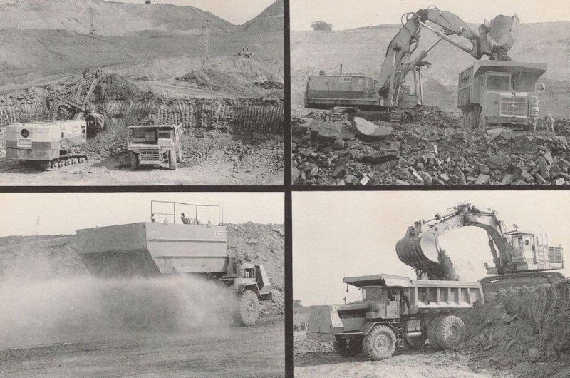 Coalfield Farm Leicester 1980s Postcard