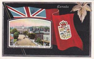 Flag Border , Main Street , PRESTON , Ontario , Canada , 00-10s