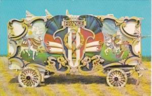 Hagenbeck-Wallace Circua Tableau Wagon Circus World Museum Baraboo Wisconsin