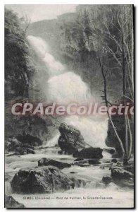 Postcard Old Gimel Vuillier Park La Grande Cascade