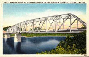 Tennessee Butler Memorial Birdge On Highway 412 Across The South Holston Rese...