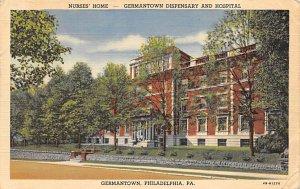 Nurses' Home - Germantown Dispensary and Hospital Germantown, Philadleph...