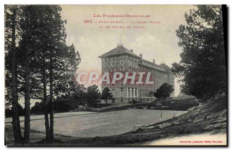 Vintage Postcards Make Romeu the Large Hotel and the courts