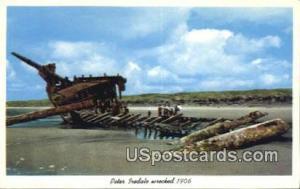 Peter Iredale Wrecked 1906 Oregon Coast OR Unused